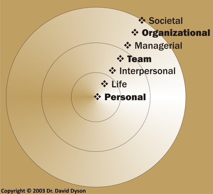Dyson Hierarchy 7 Levels Leadership Gold.