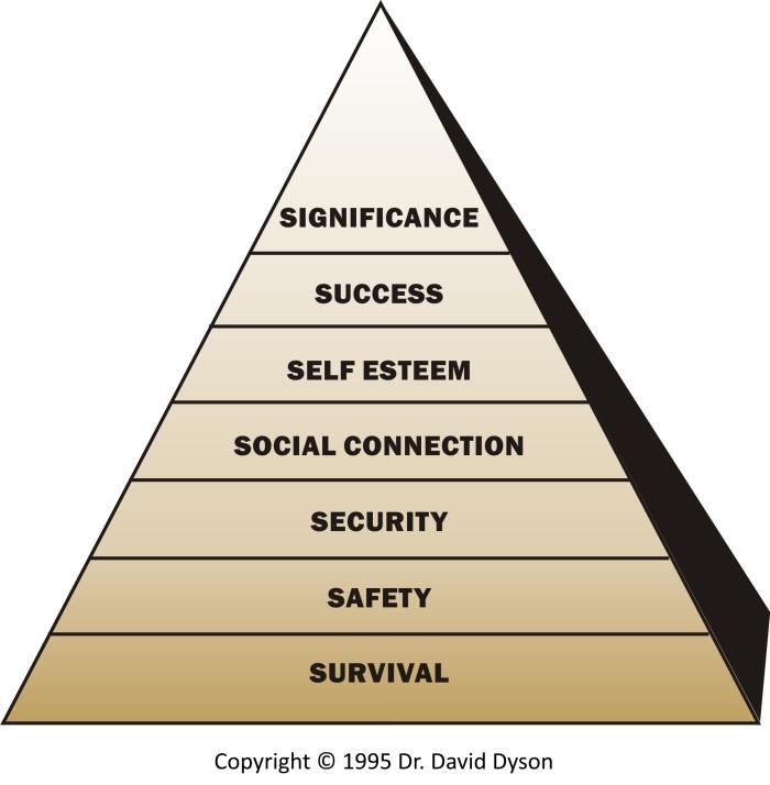 Dyson Motivating Values Gold.
