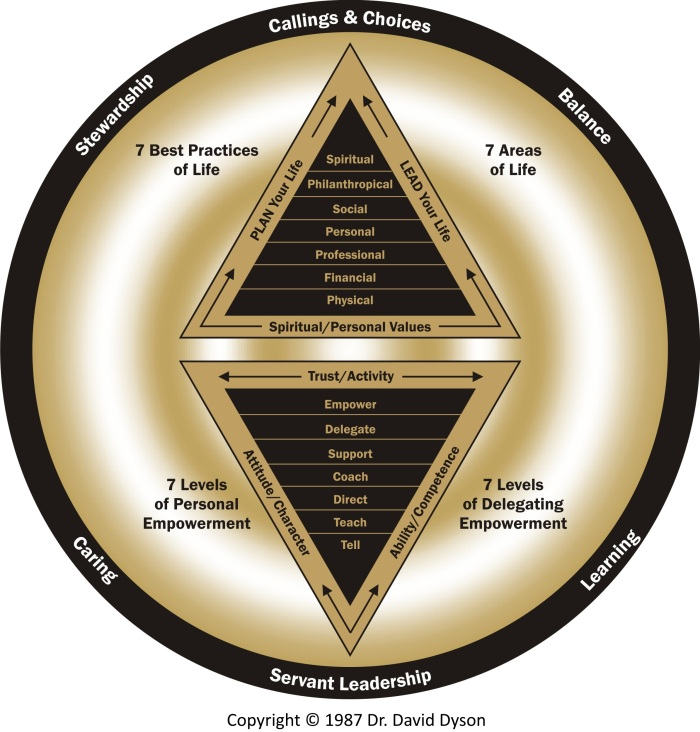 Dyson Leadership Diamond Gold.